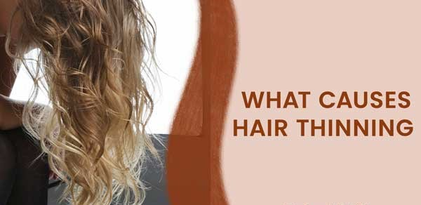 Female hair thinning causes